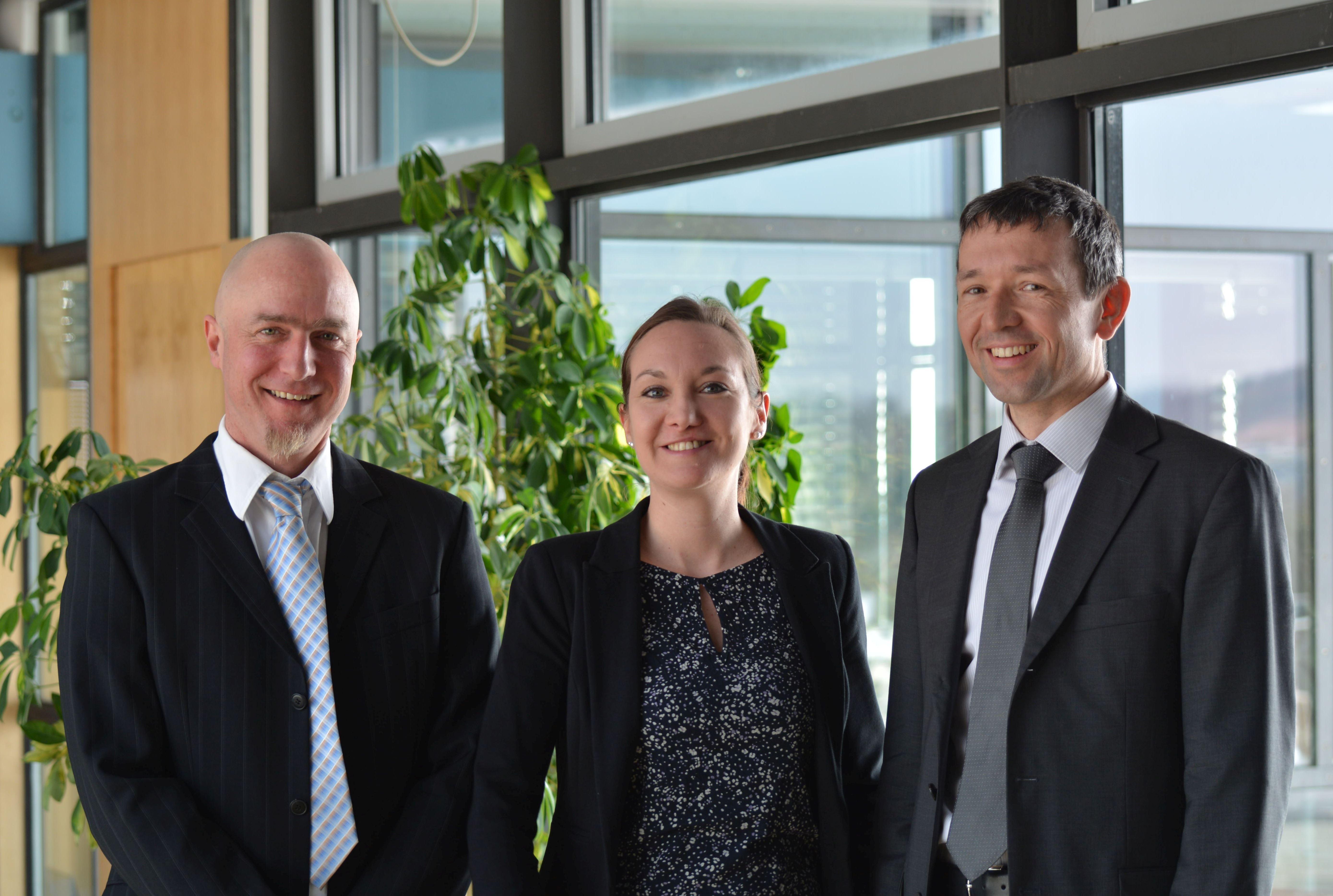 Jan Wunderlich, Maria Bertele, Martin Papendieck