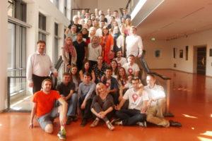 Sieben Teams aus sieben Ländern nahmen am EBMC Ideenwettbewerb teil. (Quelle: Petra Rösch)