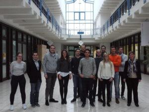 Studierende des Intra- und Entrepreneurship Wintersemesters 2017/18 (Foto: Martin Papendieck)